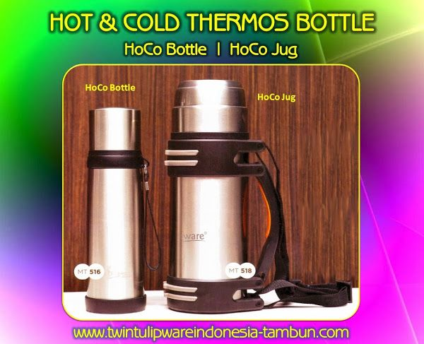 HoCo BOTTLE & HoCo JUG | Hot & Cold - Produk #Tulipware Terbaru 2014