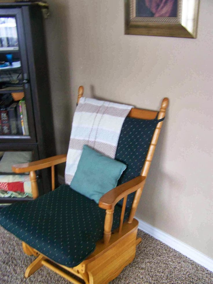Tips on recovering a glider rocker