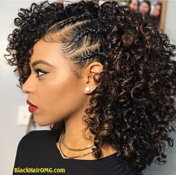 Natural Curly African American Hairstyles
