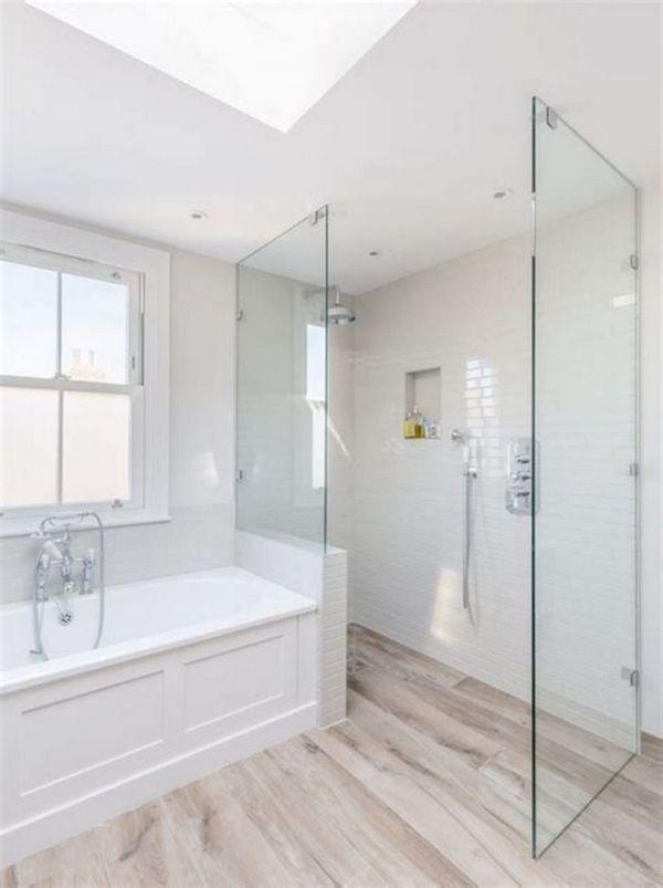 50 Beautiful Bathroom Floor Tile Design Ideas Wood Floor
