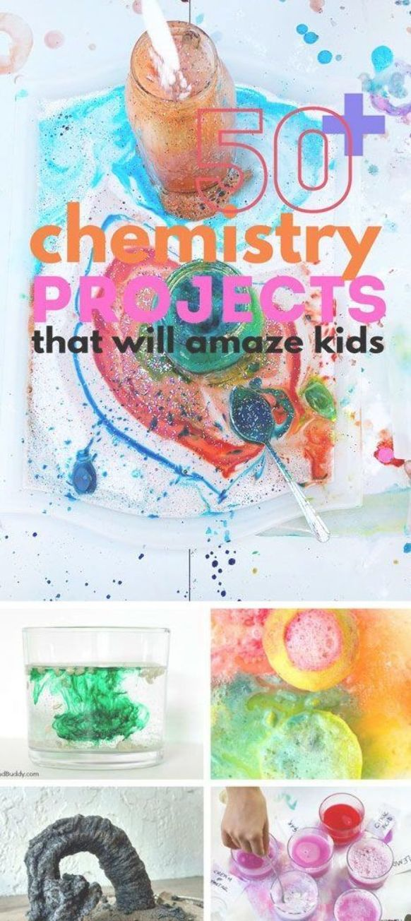 Über 50 Chemieprojekte, die Kinder in Erstaunen versetzen und die Liebe zu diesem Zweig der …