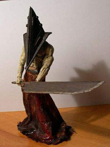 Silent Hill is one of my favorite series. Pyramid Head is such a rad character. What are some of your favorite survival horror monsters?