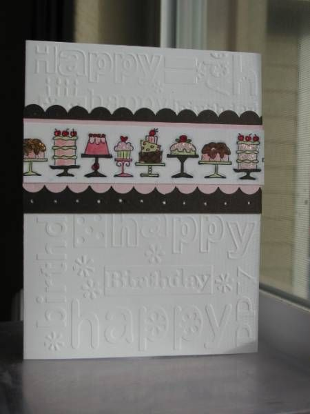 birhday by daotz - Cards and Paper Crafts at Splitcoaststampers