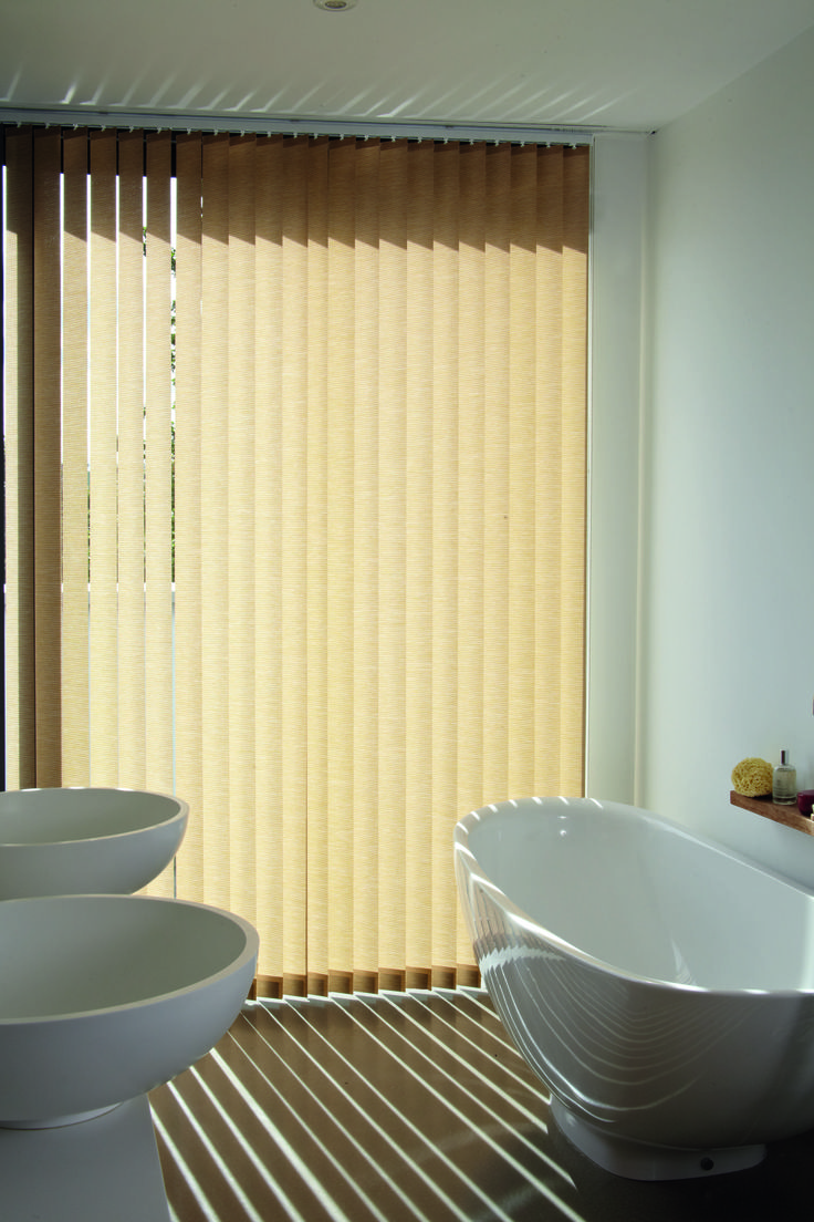 Cheap bathroom blinds uk - Bathroom Sophistication Vertical Blinds At Www Avolonblinds Com