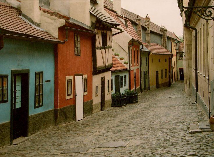 Česko, Praha - Zlatá ulička
