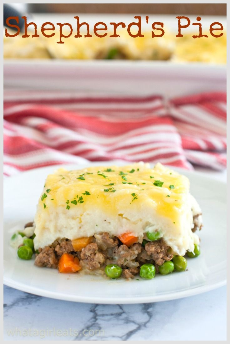 Classic Shepherd S Pie Cottage Pie What A Girl Eats Shepherds Pie Cottage Pie Clean Recipes