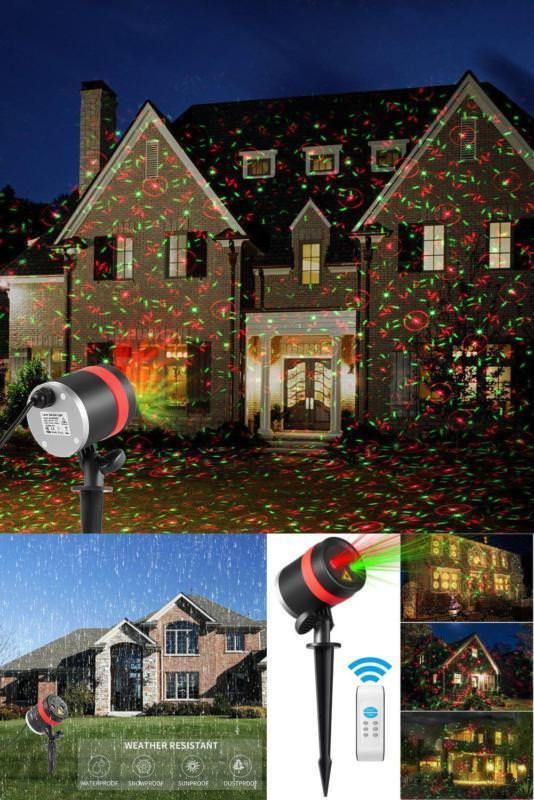 Christmas Lights Laser Projector Outdoor Show Xmas Holiday Party Remote Control #SKONYON,=> Easy & pleasant transaction => Quick delivery => 100% Feedback => http://bit.ly/24_hours_open #Christmas,#tree,#decor,#Santa,#xmas,#decoration,#inflatable,#holiday,#party,#sandaclaus,#yard,#garden,#patio,#accessories