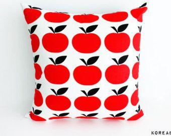 pillow pillow cover apple fabric pillow pillow cushion 16x16