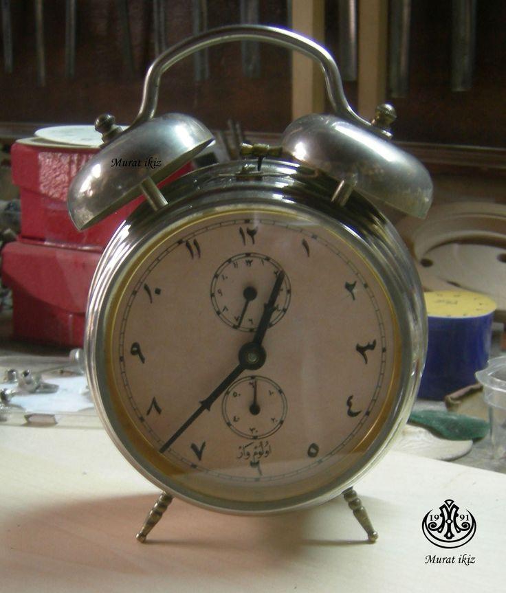 Kadranı Düzenlenen Masa saati...