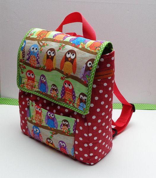 Kinder+(-garten)rucksack+von+***+schoenesachenmachen+***+auf+DaWanda.com