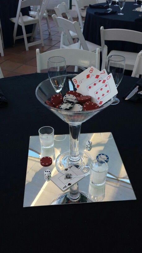 Casino table decorations uk