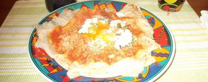 Sardinia typical food from Barbagia.  Su Pani Frattau...a simple dish..in 5 minutes anyone can make a perfect sardinian dish!