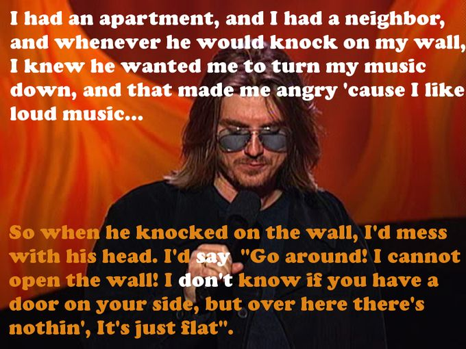 More from Mitch Hedberg!