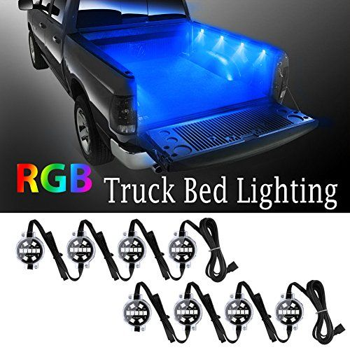 LED Truck Bed Lighting, Derlson Truck Rail Lights ,Car exterior / Interior LED Lights with On/Off Switch and Fuse, For Pickups, RVs, Vans and Cargos [ RGB LEDs, Remote Control ,IP67 Waterproof ]. For product info go to:  https://www.caraccessoriesonlinemarket.com/led-truck-bed-lighting-derlson-truck-rail-lights-car-exterior-interior-led-lights-with-onoff-switch-and-fuse-for-pickups-rvs-vans-and-cargos-rgb-leds-remote-control-ip67-waterproof/