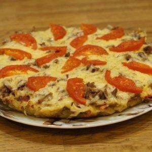 Картофельная пицца на ск…
