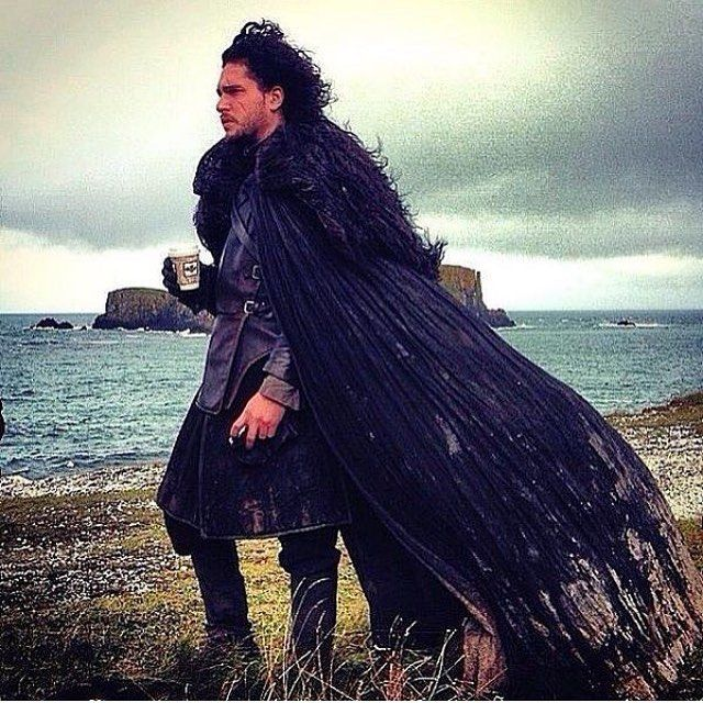 Do you like Jon Snow better as the Lord Commander of Night's Watch or the King in the North?  - {via @kitharingtone}
