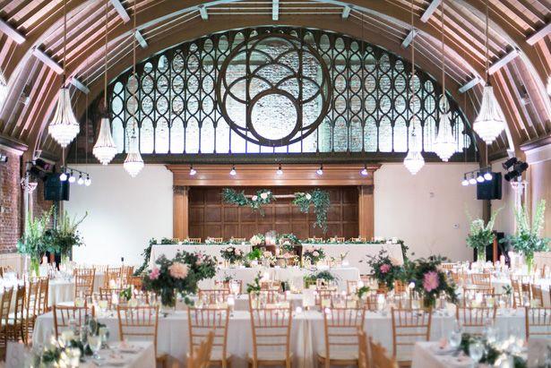 Wedding table setup - Watson Studios