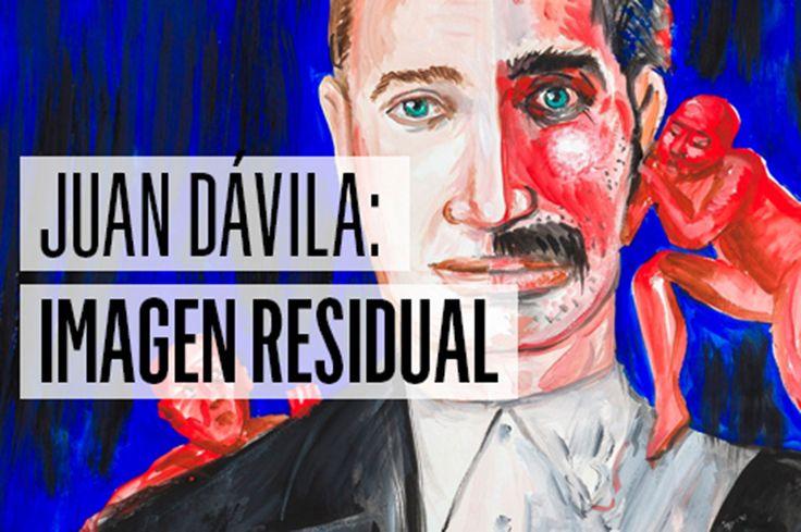 """""""Imagen Residual"""" exposición que se llevo a cabo en el centro Matucana 100 contaba de la retrospectiva de la obra de Juan Davila, pinturas y grabados componían la muestra"""