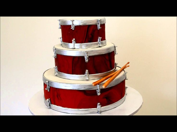 1000+ ideas about Drum Cake on Pinterest Guitar Cake ...
