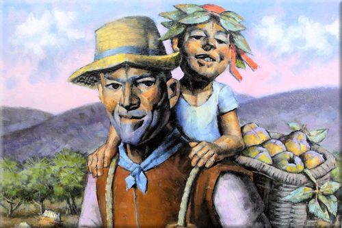 #Испанская деревенская живопись - Графикон Арт