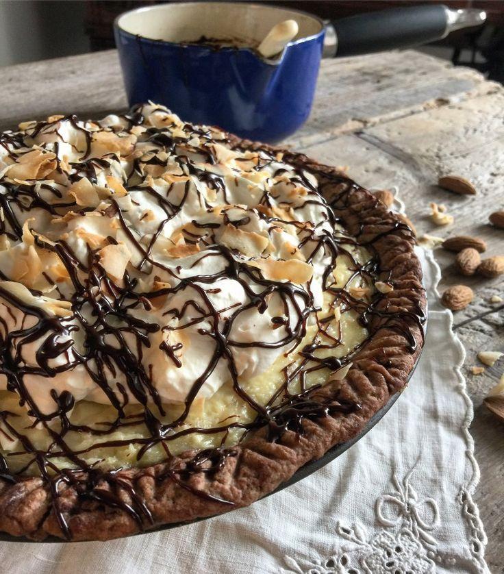 Almond Joy Coconut Cream Pie