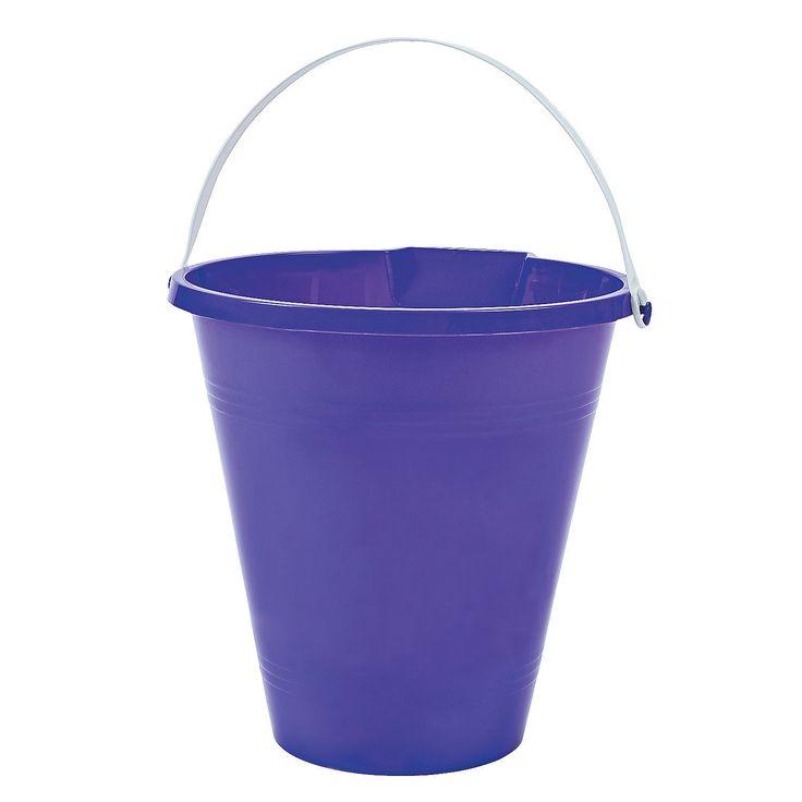Purple Sand Bucket - OrientalTrading.com