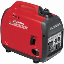 Honda EU2000IA1 EU2000i - 1600 Watt Portable Inverter Generator (50 state model) at Electric Generators Direct includes free shipping.