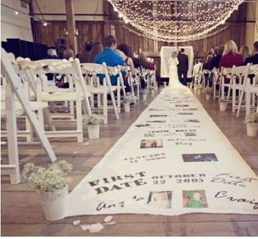 {Décoration Mariage} Le tapis des Mariés