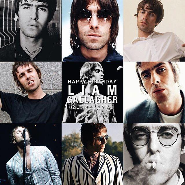 Happy Birthday Liam Gallagher! | 21.09.1972 | #LiamGallagher, #myedit.