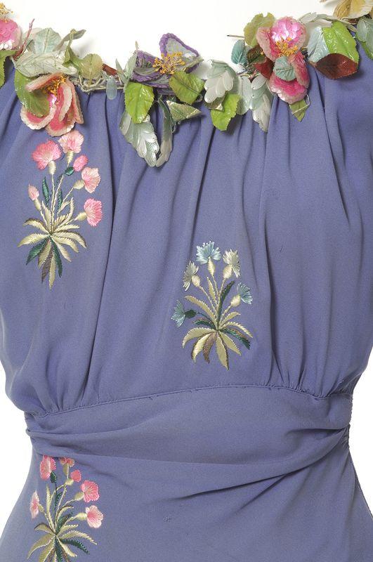 Elsa Schiaparelli, robe du soir | Les Arts décoratifs