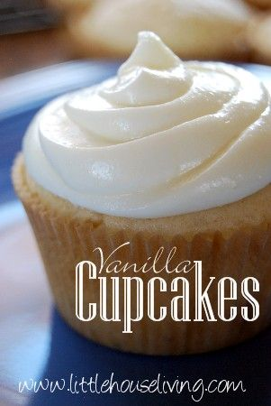 From Scratch Vanilla Cupcakes. I made these for Easter and they turned out delicious!! Sooooooo easy; definitely a keeper!