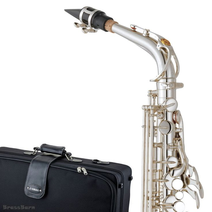 2017 Yamaha YAS-62S 04 Silver Plated Alto Saxophone (Replaces 62S III) BrassBarn