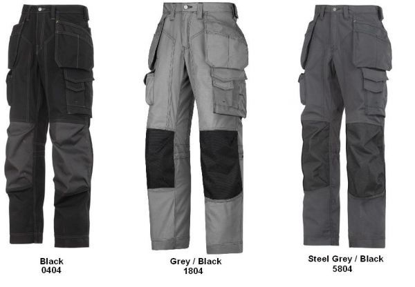 Snickers 3223 Floor Layers Trousers (FREE Knee Pads)