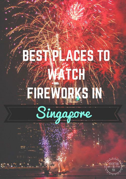 Wondering where to watch fireworks while in Singapore? Here are some great spots to help you http://www.adventureinyou.com/best_places_to_watch_the_singapore_national_day_fireworks/