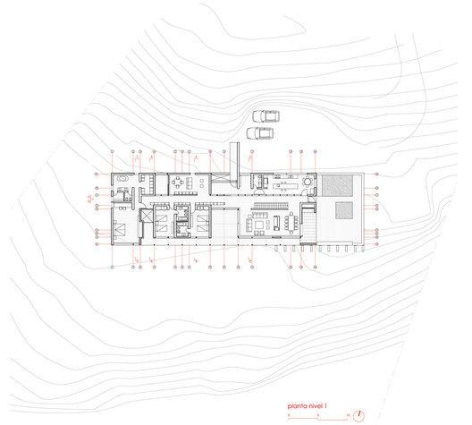Techos House,Plan
