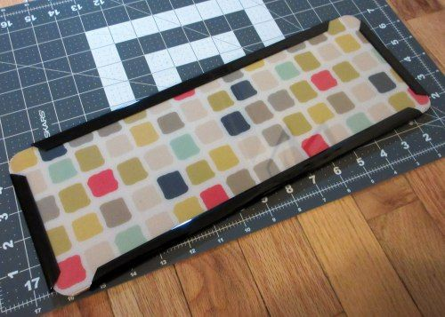 DIY Purse base shaper