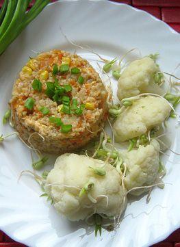 Kasza jęczmienna z warzywami i indykiem