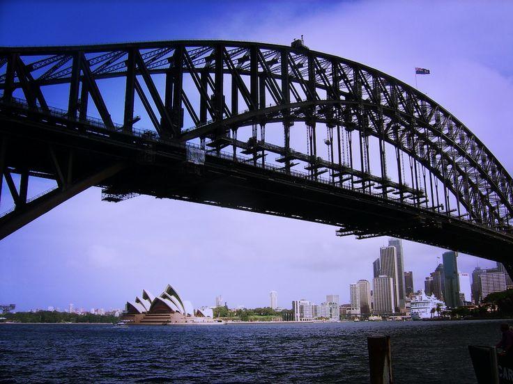 Harbour Bridge, #Sydney #viaggioliberamente #harbourbridge #australia