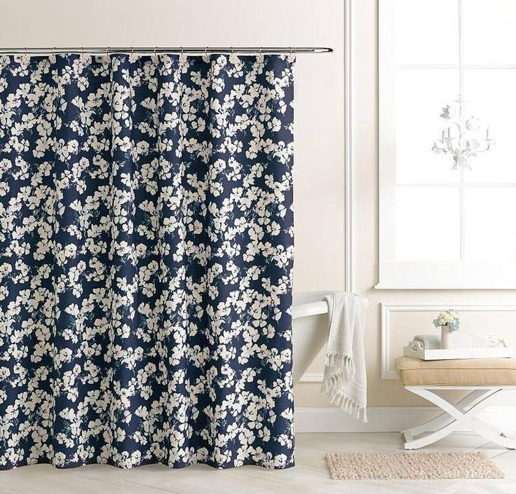 lauren conrad shower curtain lc lauren conrad ella ruffle fabric