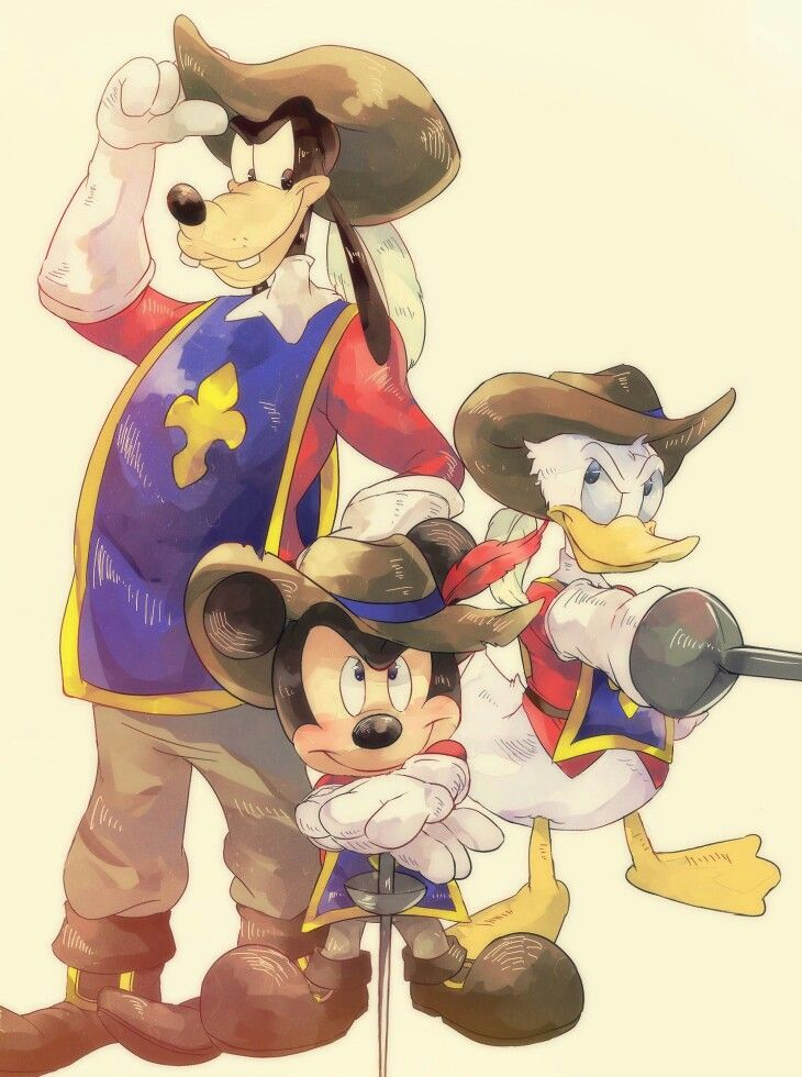 Mickey, Donald, and Goofy: The Three Musketeers