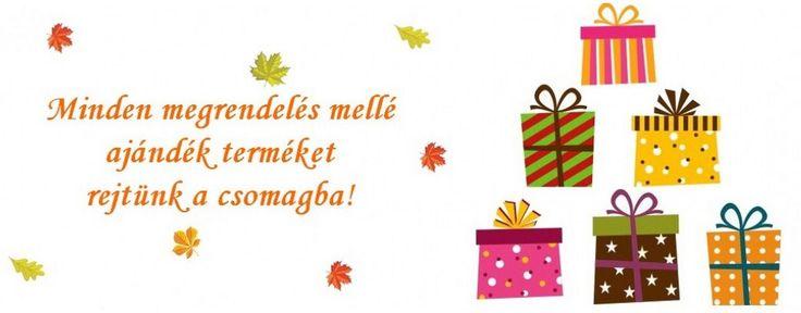 Így van bizony, így duplán megéri tőlünk rendelni, hiszen nem csak minőségi termékeket küldünk, hanem egy kis plusz szeretetet is!  http://www.ruhakpalotaja.hu/