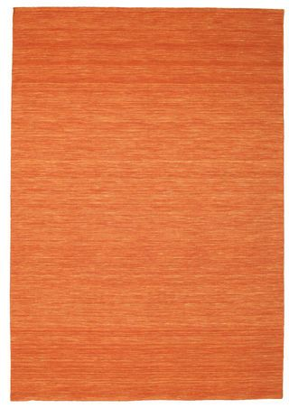 Kelim loom - oranssi-matto 220x320