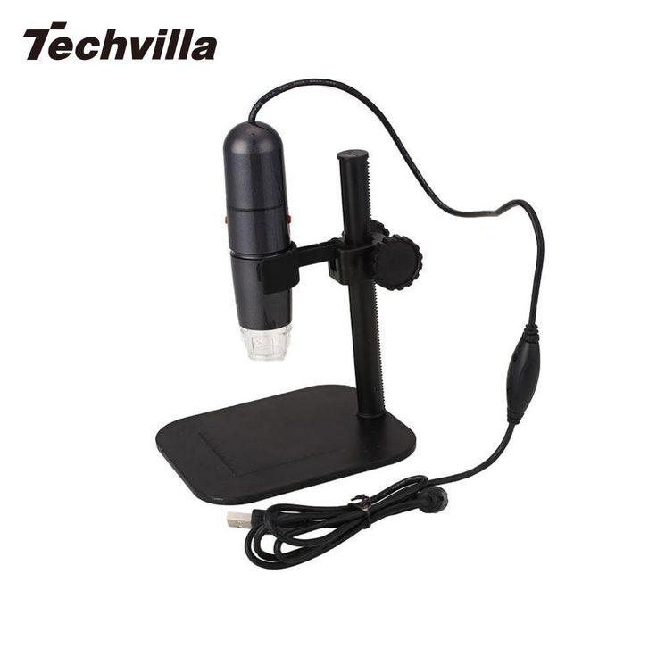 buy techvilla new 8led 50x 1000x usb digital microscope handheld for endoscope magnifier video #handheld #microscope