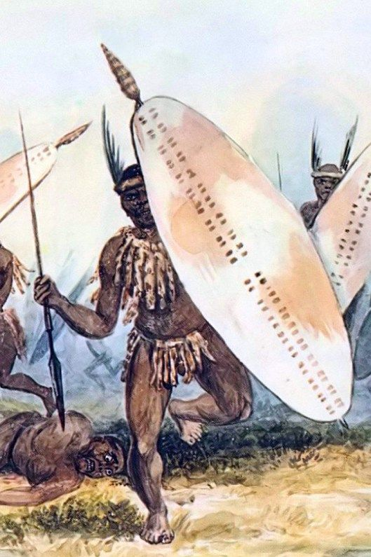 10. THE GREAT TREK --------------- … in which the Great Trek leaves the Colony. A Matabele army attacks a small band of Trekkers. In retaliation, the Matabele capital is attacked and the resident American missionaries leave with the Trekkers. The main Trek under Pieter Retief departs over the Prairie Interior to subtropical Natal to barter unpopulated land from the Zulu King Dingane.