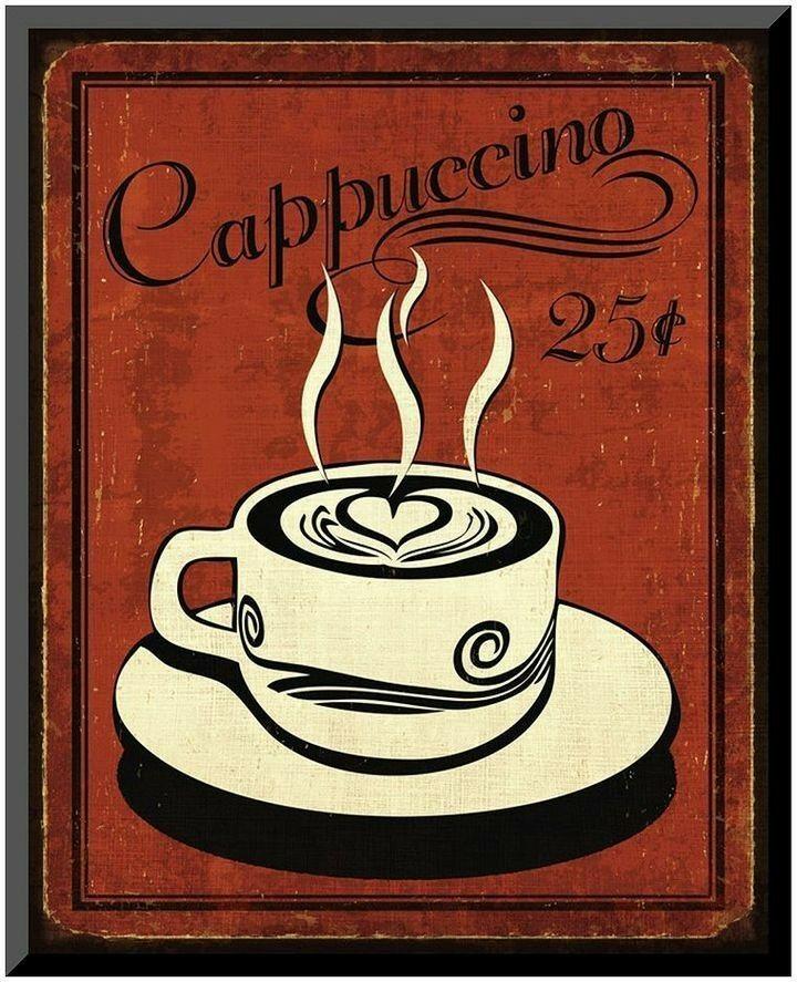 постеры кофе и чай часть