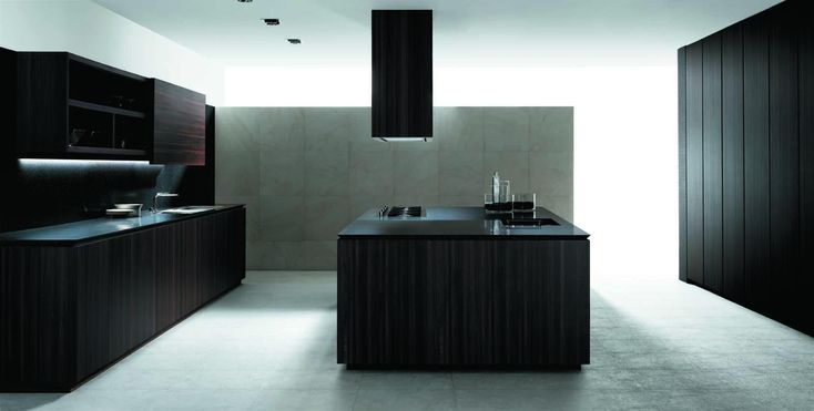 eine moderne kochinsel f r luxuri se k chen k che pinterest dunstabzugshaube schwarz. Black Bedroom Furniture Sets. Home Design Ideas