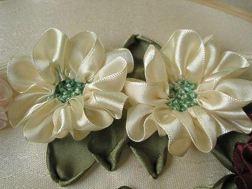 ribbon embroidery by zaliana, via Flickr
