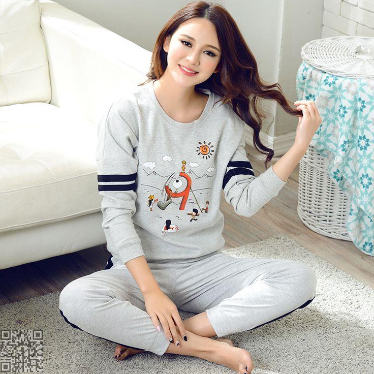 2016 New  Fashion Women's Sleep&Lounge Sleepwear Pajama Sets Womem Elegant  Pajamas Tracksuits Womens Pyjamas Sets On Sales