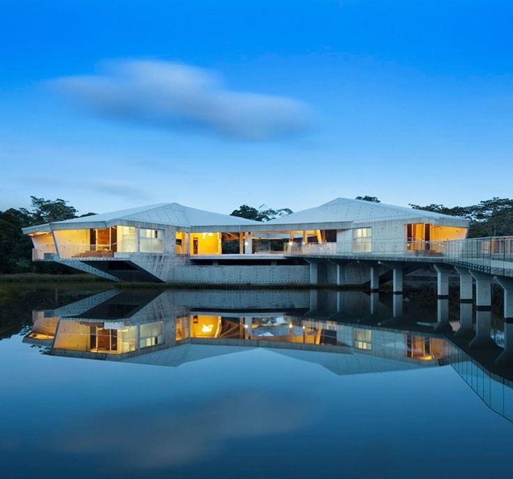 One of the more unique properties we have profiled is the Stamp House by Charles Wright Architects. Located close to the coast in far north Queensland the site is carbon neutral whilst in operation and designed to withstand intense tropical cyclones. @charles_wright_architects  Photography credit: Patrick Bingham Hall. @patrickbinghamhall