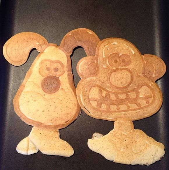 Creative Pancake_Wallace and Gromit